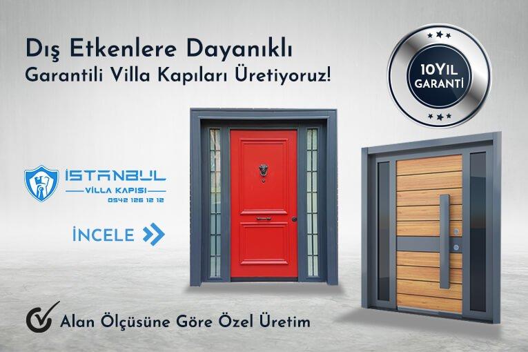 dış etkenlere dayanıklık 10 yıl garantili villa kapısı modelleri istanbul villa kapısı