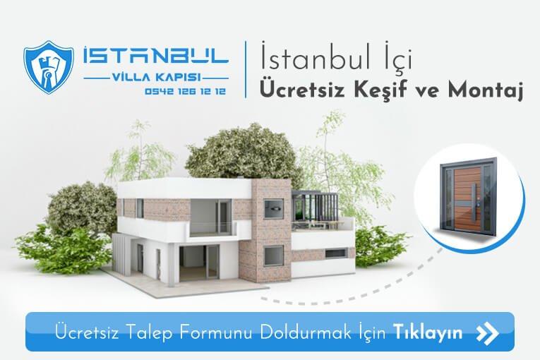 istanbul villa kapısı ölçüye özel üretim indirimli villa giriş kapısı modelleri