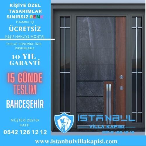 Bahçeşehir Villa Kapısı Modelleri Dış Etkenlere Dayanıklı Ölçüye Özel Üretim Kompozit Kompak Villa Kapıları