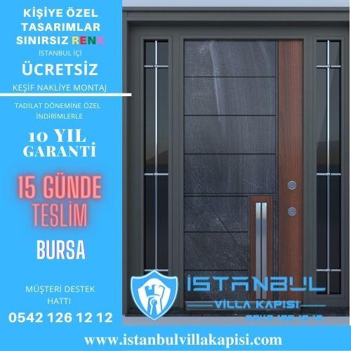 Bursa Villa Kapısı Modelleri Çelik Kapı Kompozit Villa Giriş Kapısı Modelleri
