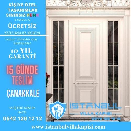Çanakkale Villa Kapısı Modelleri Çanakkale Villa Giriş Kapısı Fiyatları Çelik Kapı