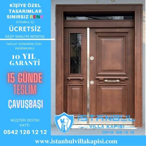 Çavuşbaşı Villa Kapısı Modelleri Çavuşbaşı Villa Kapıları İstanbul Villa Kapısı