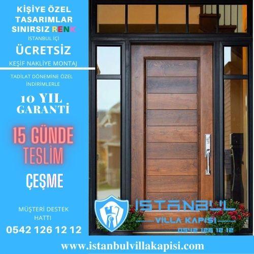 Çeşme Villa Kapısı Modelleri ÇEşme Çelik Kapı İstanbul Villa Kapısı Modelleri