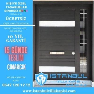 Çınarcık Villa Kapısı Çelik Kapı İstanbul Villa Kapısı Modelleri
