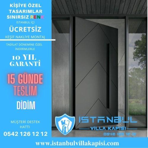 Didim Villa Kapısı Modelleri İstanbul Villa Kapısı Çelik Kapı