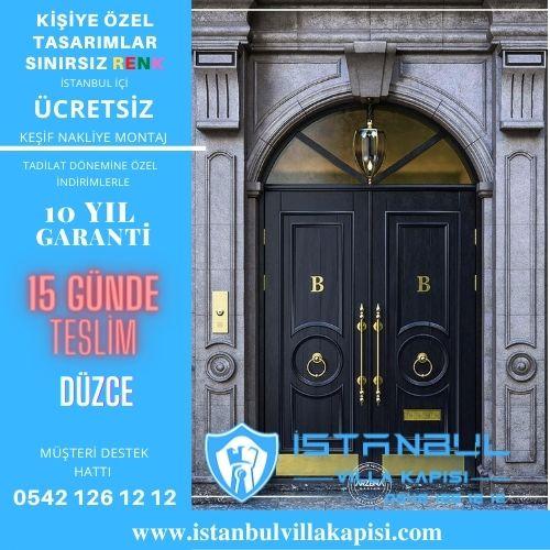 Düzce Villa Kapısı Modelleri İstanbul Villa Kapısı Çelik Kapı