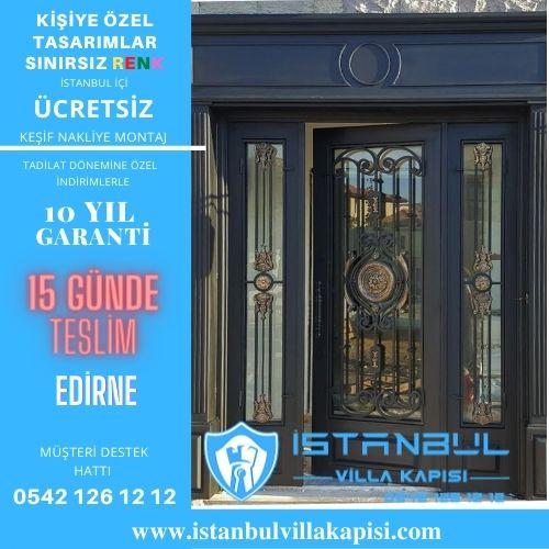 Edirne Villa Kapısı Modelleri İstanbul Villa Kapısı Çelik Kapı