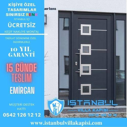 Emirgan Villa Kapısı Modelleri İstanbul Villa Kapısı Kompozit Çelik Kapı