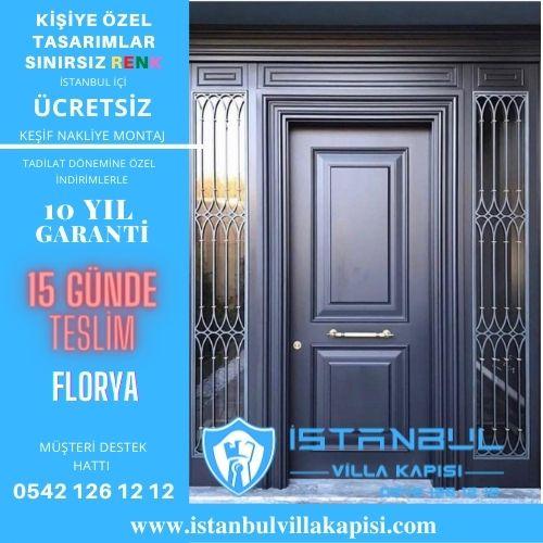 Florya Villa Kapısı Modelleri İstanbul Villa Kapısı Kompozit Çelik Kapı