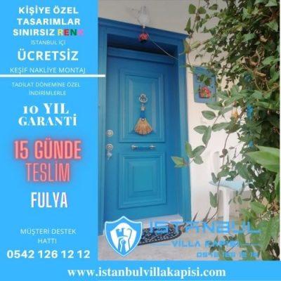 Fulya Villa Kapısı Modelleri İstanbul Villa Kapısı Kompozit Çelik Kapı