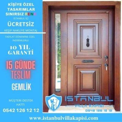 Gemlik Villa Kapısı Modelleri İstanbul Villa Kapısı Kompozit Çelik Kapı
