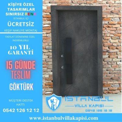 Göktürk Villa Kapısı Modelleri İstanbul Villa Kapısı Kompozit Çelik Kapı
