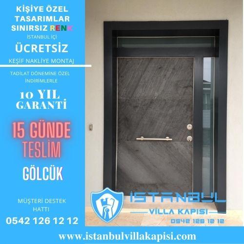 Gölcük Villa Kapısı Modelleri İstanbul Villa Kapısı Kompozit Çelik Kapı