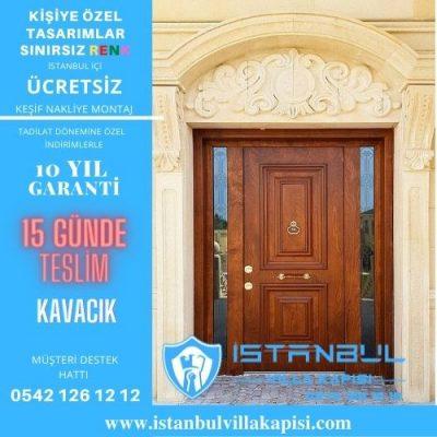Kavacık Villa Kapısı Modelleri İstanbul Villa Kapısı Kompozit Çelik Kapı
