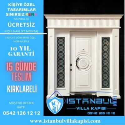 Kırklareli Villa Kapısı Modelleri İstanbul Villa Kapısı Kompozit Çelik Kapı