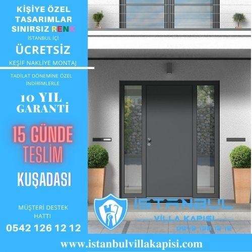 Kuşadası Villa Kapısı Modelleri İstanbul Villa Kapısı Kompozit Çelik Kapı