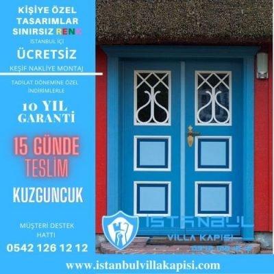 Kuzguncuk Villa Kapısı Modelleri İstanbul Villa Kapısı Kompozit Çelik Kapı