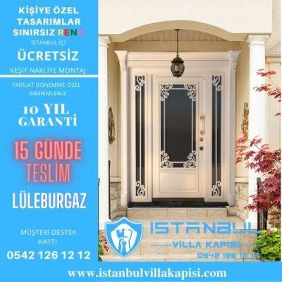 Lüleburgaz Villa Kapısı Modelleri İstanbul Villa Kapısı Kompozit Çelik Kapı