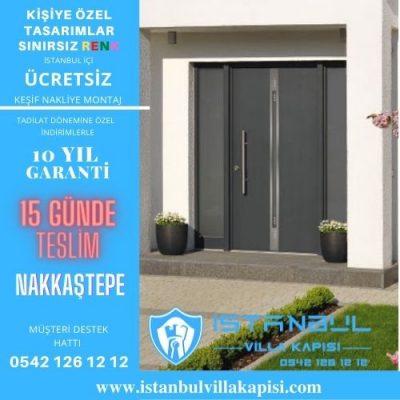 Nakkaştepe Villa Kapısı Modelleri İstanbul Villa Kapısı Kompozit Çelik Kapı