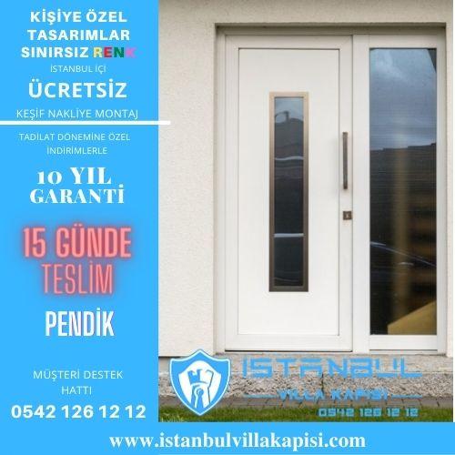 Pendik Villa Kapısı Modelleri İstanbul Villa Kapısı Kompozit Çelik Kapı