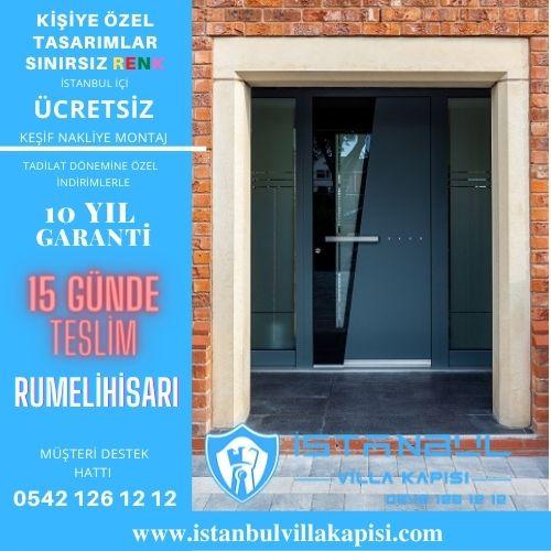 Rumelihisarı Villa Kapısı Modelleri İstanbul Villa Kapısı Kompozit Çelik Kapı