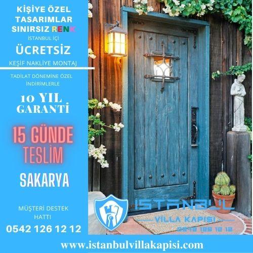 Sakarya Villa Kapısı Modelleri İstanbul Villa Kapısı Kompozit Çelik Kapı