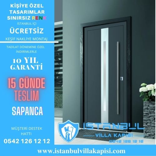 Sapanca Villa Kapısı Modelleri İstanbul Villa Kapısı Kompozit Çelik Kapı