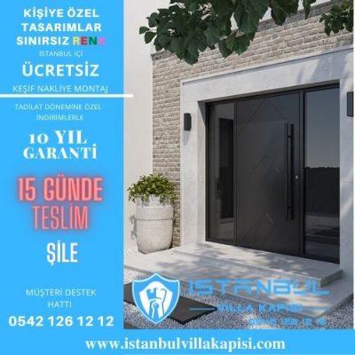 Şile Villa Kapısı Modelleri İstanbul Villa Kapısı Kompozit Çelik Kapı