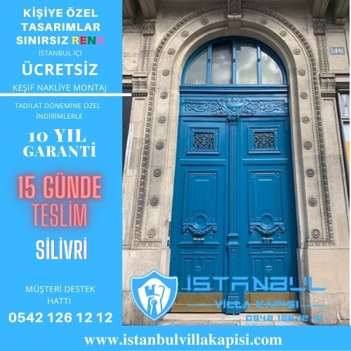 Silivri Villa Kapısı Modelleri İstanbul Villa Kapısı Kompozit Çelik Kapı