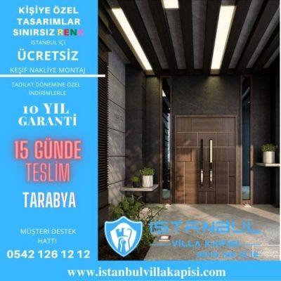 Tarabya Villa Kapısı Modelleri İstanbul Villa Kapısı Kompozit Çelik Kapı