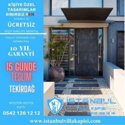 Tekirdağ Villa Kapısı Modelleri İstanbul Villa Kapısı Kompozit Çelik Kapı