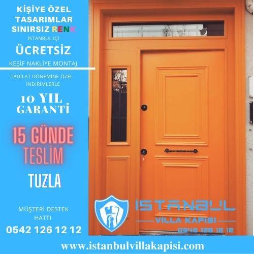 Tuzla Villa Kapısı Modelleri İstanbul Villa Kapısı Kompozit Çelik Kapı