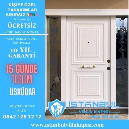 Üsküdar Villa Kapısı Modelleri İstanbul Villa Kapısı Kompozit Çelik Kapı