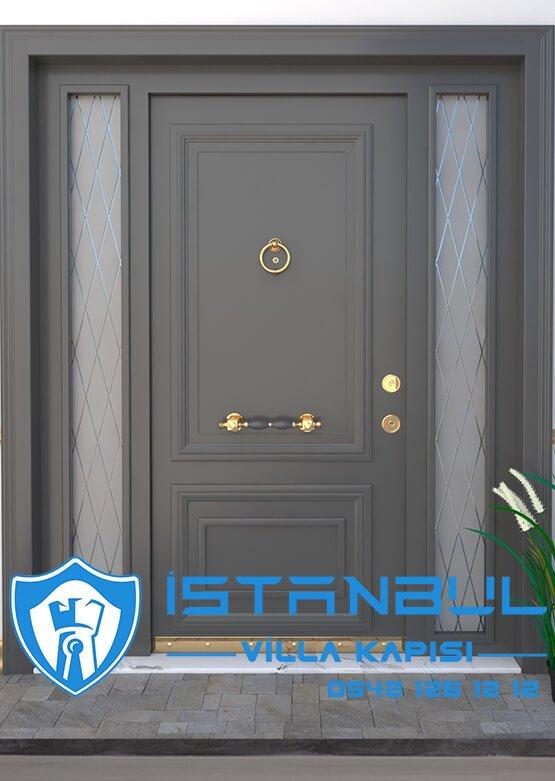Villa Kapısı Çelik Kapı Dış Kapı Modelleri Villa Giriş Kapısı İstanbul Villa Kapıları 1