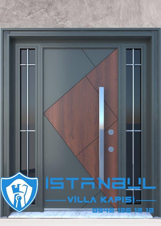 Villa Kapısı İstanbul Villa Giriş Kapısı Modelleri İndirimli Villa Çelik Kapı 3