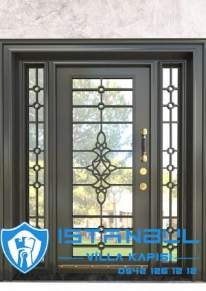 Villa Kapısı İstanbul Villa Giriş Kapısı Modelleri İndirimli Villa Çelik Kapı 5