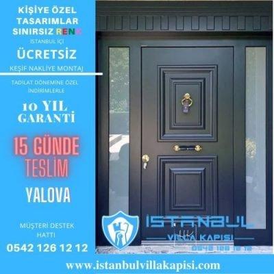 Yalova Villa Kapısı Modelleri İstanbul Villa Kapısı Kompozit Çelik Kapı
