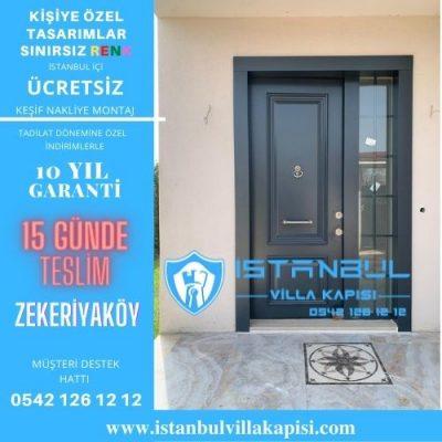 zekeriyaköy Villa Kapısı Modelleri İstanbul Villa Kapısı Kompozit Çelik Kapı
