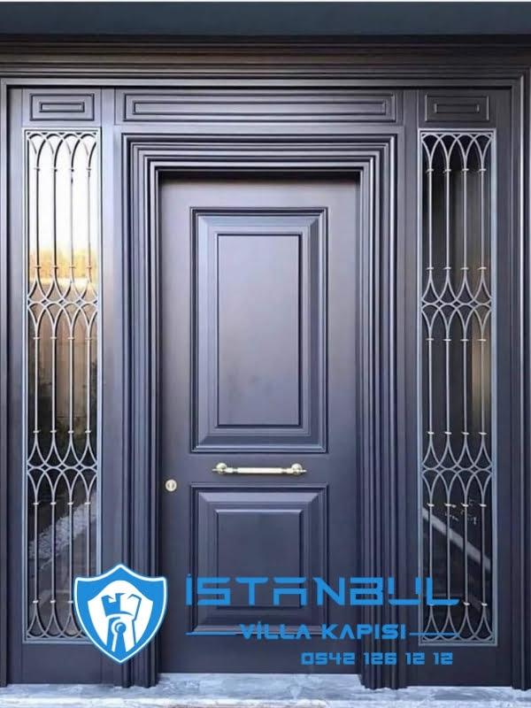 istanbul villa kapısı ahşap özel üretim villa kapısı steel doors haüsturen çelik kapı villa giriş kapısı camlı kapı modelleri kompozit villa kapısı