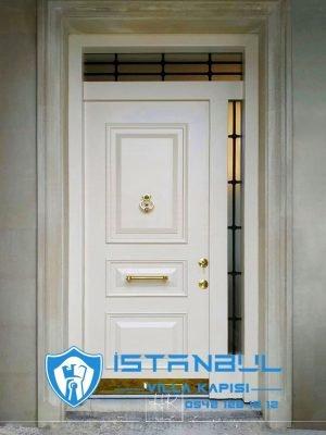 istanbul villa kapısı beyaz dış etneklere daanıklı özel üretim villa kapısı steel doors haüsturen çelik kapı villa giriş kapısı camlı kapı modelleri kompozit villa kapısı