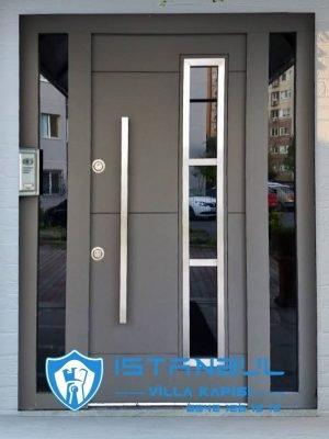 istanbul villa kapısı cam bölmeli özel üretim villa kapısı steel doors haüsturen çelik kapı villa giriş kapısı camlı kapı modelleri kompozit villa kapısı