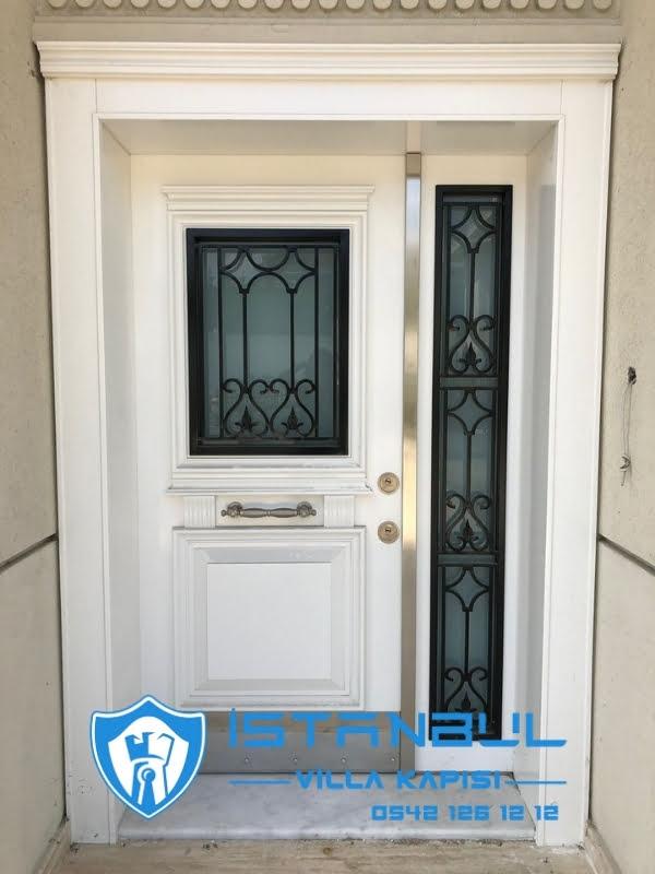 istanbul villa kapısı camlı özel üretim villa kapısı steel doors haüsturen çelik kapı villa giriş kapısı camlı kapı modelleri kompozit villa kapısı