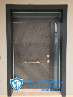 istanbul villa kapısı granit özel üretim villa kapısı steel doors haüsturen çelik kapı villa giriş kapısı camlı kapı modelleri kompozit villa kapısı