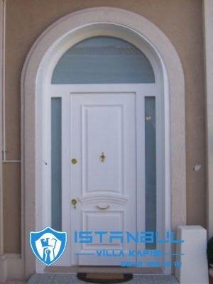 istanbul villa kapısı kemerli yuvarlak kubbeli özel üretim villa kapısı steel doors haüsturen çelik kapı villa giriş kapısı camlı kapı modelleri kompozit villa kapısı