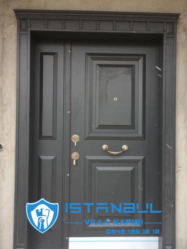 istanbul villa kapısı klasik kabartmalı özel üretim villa kapısı steel doors haüsturen çelik kapı villa giriş kapısı camlı kapı modelleri kompozit villa kapısı