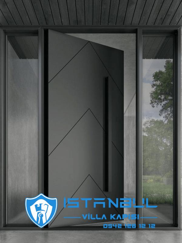 istanbul villa kapısı lüks modern özel üretim villa kapısı steel doors haüsturen çelik kapı villa giriş kapısı camlı kapı modelleri kompozit villa kapısı