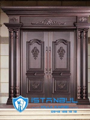 istanbul villa kapısı lüks özel üretim villa kapısı steel doors haüsturen çelik kapı villa giriş kapısı camlı kapı modelleri kompozit villa kapısı