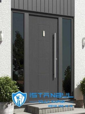 istanbul villa kapısı sade lüks modern özel üretim villa kapısı steel doors haüsturen çelik kapı villa giriş kapısı camlı kapı modelleri kompozit villa kapısı
