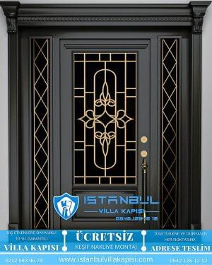 antrasit ferforjeli istanbul villa kapısı villa kapısı modelleri istanbul villa giriş kapısı villa kapısı fiyatları-12