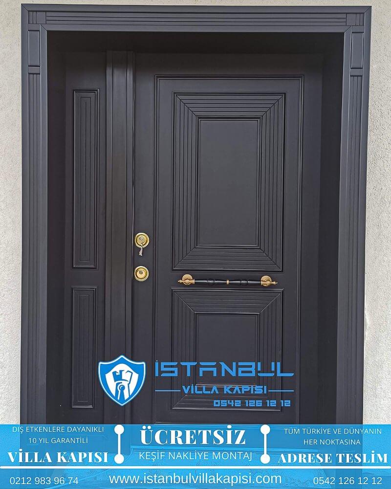 antrasit modern istanbul villa kapısı villa kapısı modelleri istanbul villa giriş kapısı villa kapısı fiyatları-18